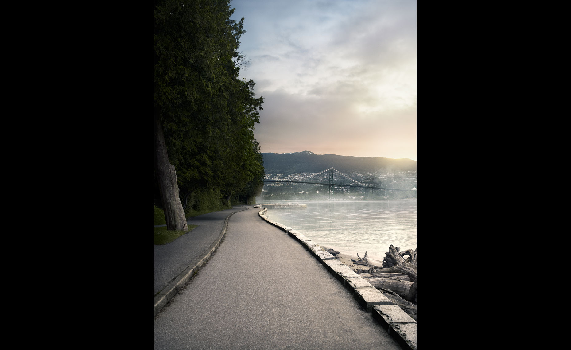 Vancouver Sea Wall Running Trails