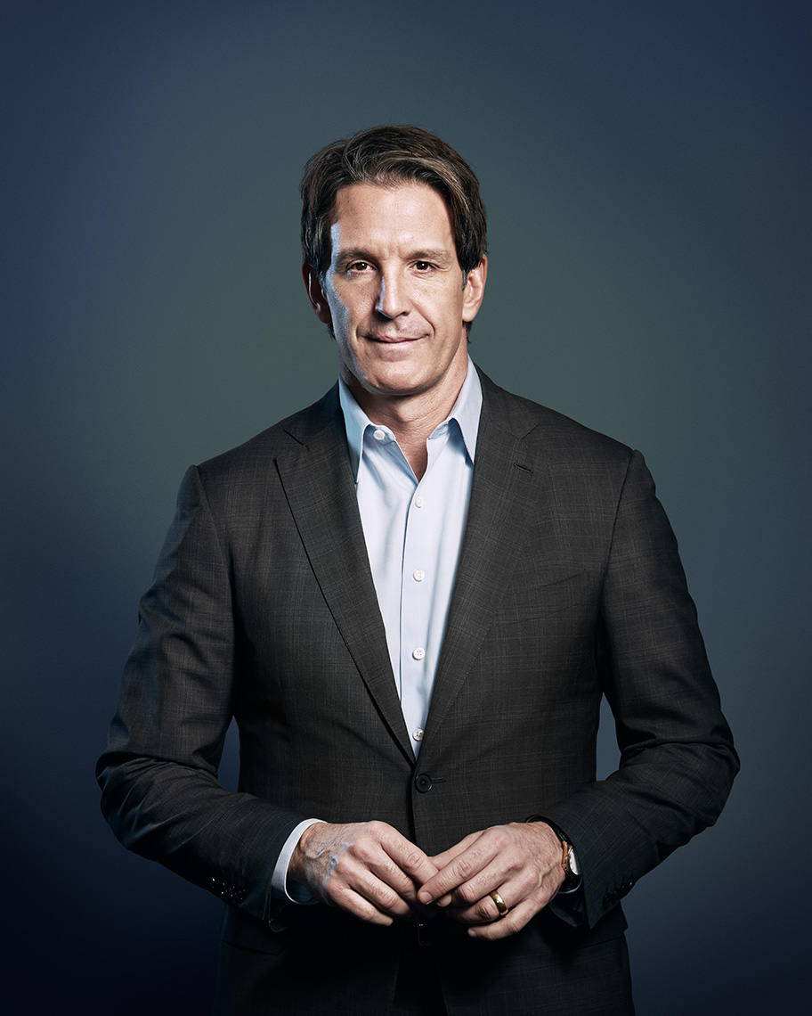 Brendan Shanahan, Toronto Maple Leafs current President, and NHL Hall of Famer, for Sportsnet Magazine.