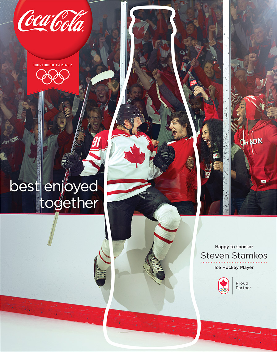 Steven Stamkos, Canadian Ice Hockey player, for Coca-Cola