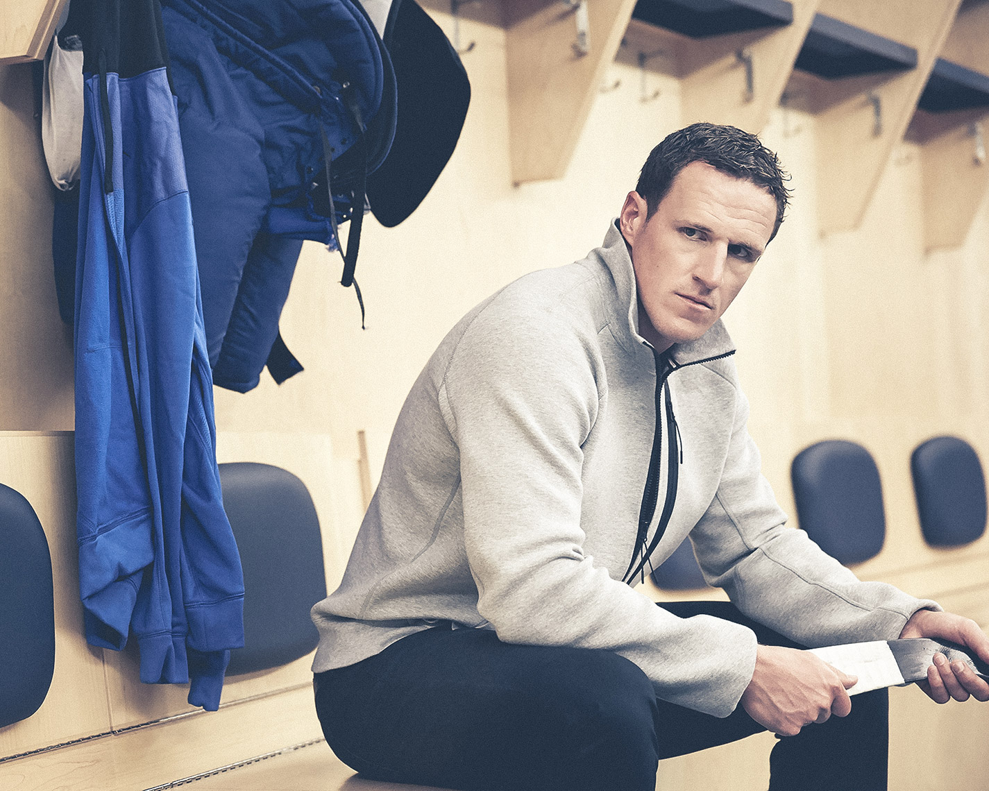 Dion Phaneuf for Nike.