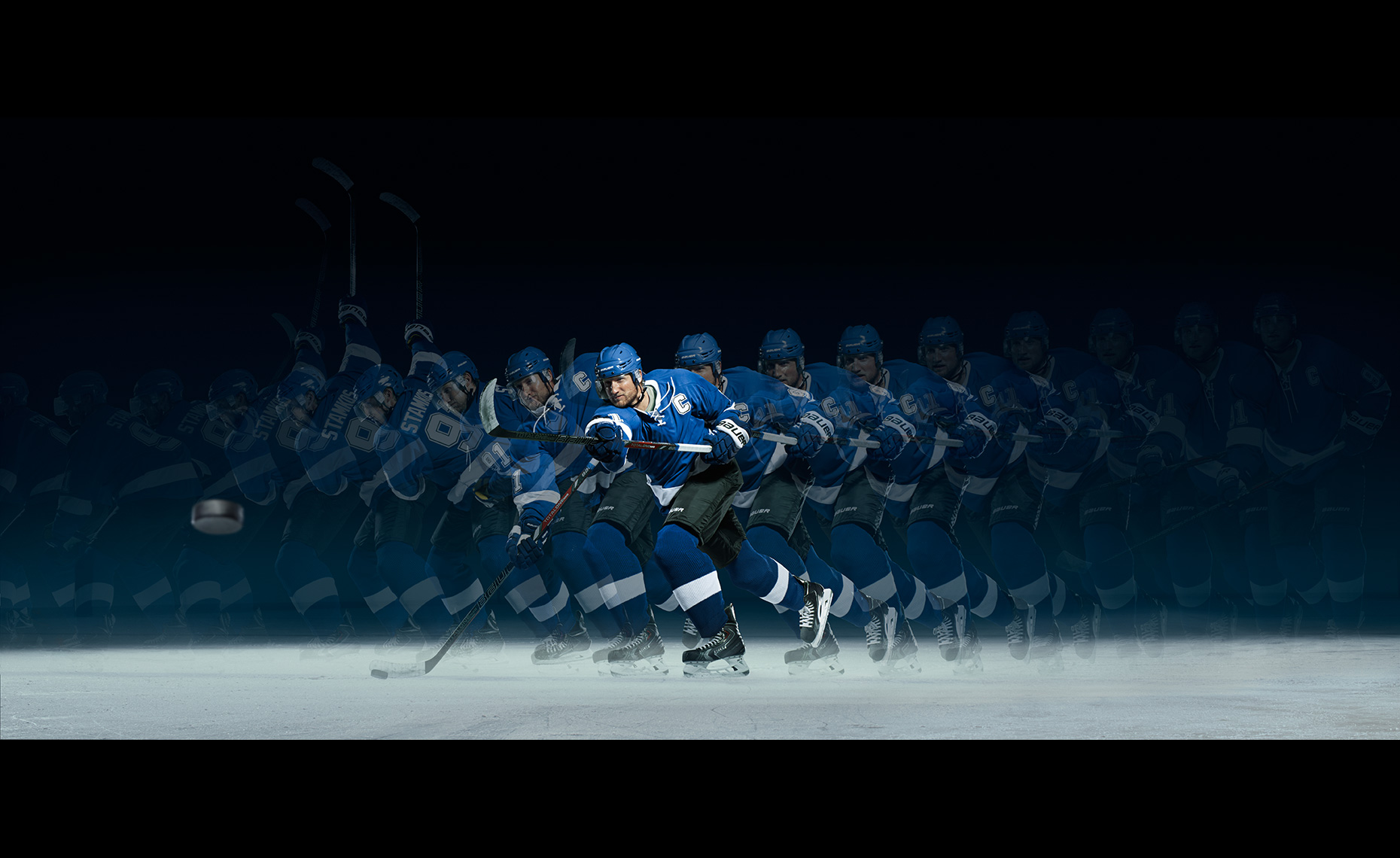 Steven Stamkos Stroboscopic Slap Shot for Powerade.